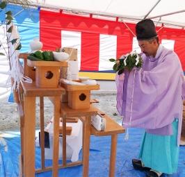 熱田区地鎮祭